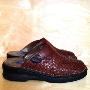 Dr. Scholl's Brown Leather Double Air-Pillo | 6½